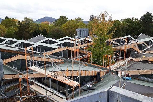 Sanierung der Werkstattdächer am Berufsschulzentrum Bissierstraße kostet 4 Millionen Euro