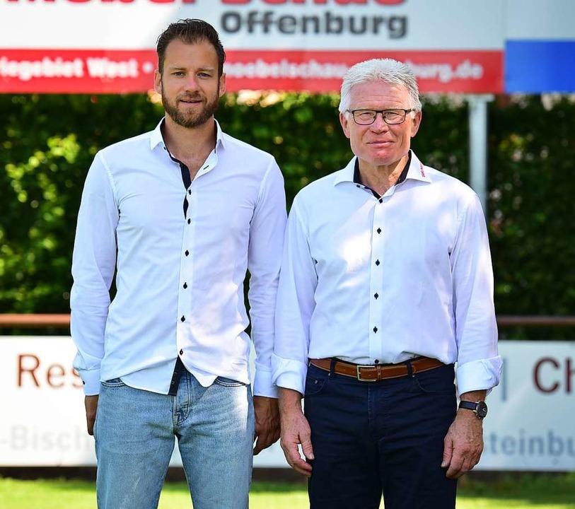 Bernhard Wiesler (li.) übernahm die sportliche Leitung von August Zügel.  | Foto: Claus G. Stoll ra.stoll@icloud.com
