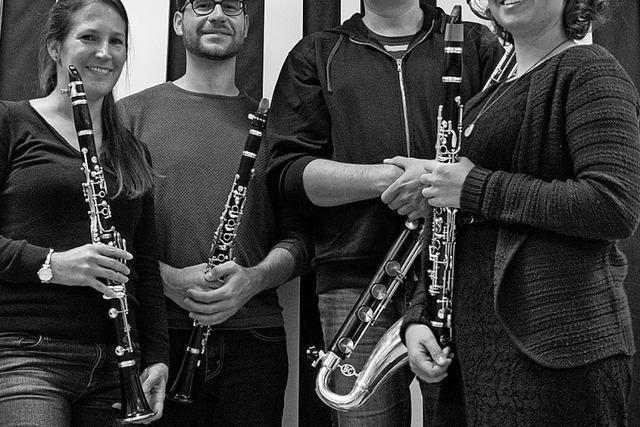 Klarinettenensemble Miau gibt Konzert in Rheinfelden