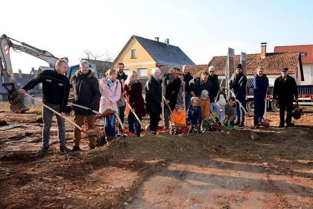 In Dinglingen wird ein neuer Kindergarten für 2,6 Millionen Euro gebaut
