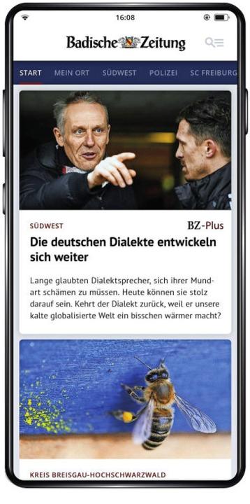 BZ-Smart liefert Nachrichten aus der Region aufs Smartphone.  | Foto: bz