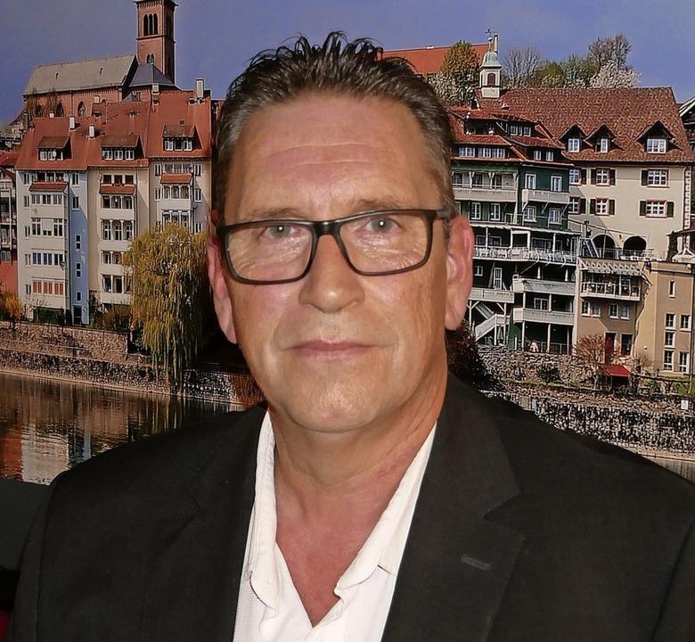 Heiner Berger ist der neue Vorsitzende des SPD-Ortsvereins Laufenburg.  | Foto: Michael Gottstein