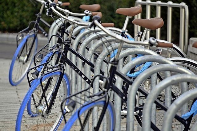 Leihräder und Mülltrennung