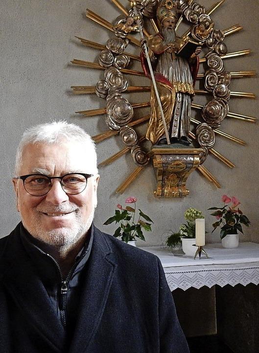 Seit 20 Jahren in St. Nikolaus: Pfarrer Hans-Jürgen Decker.     Foto: Kurt Meier