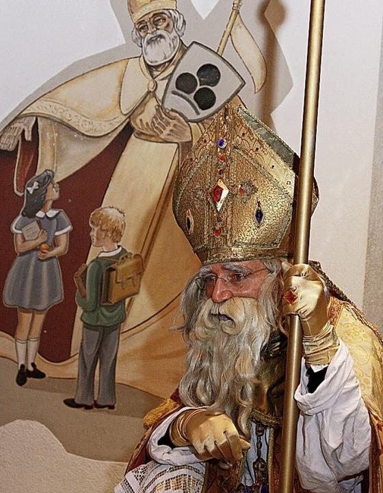 Der Nikolaus kommt.   | Foto: ZVG