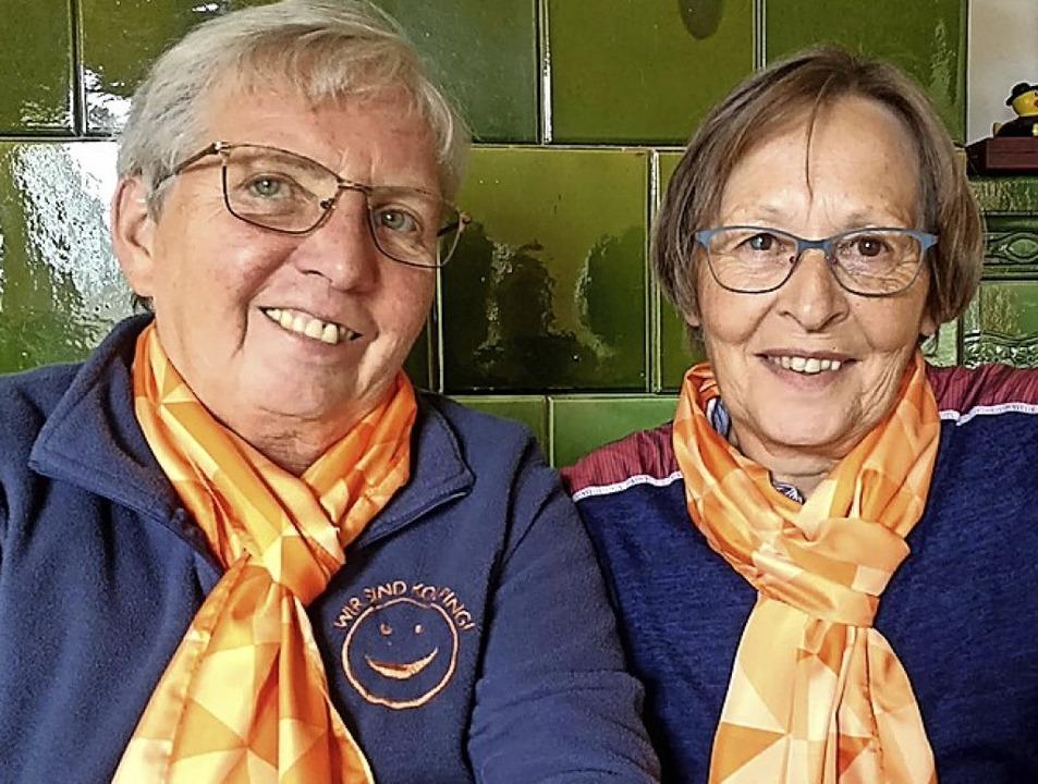 Franziska Straub-Nobs (links) und Gabi Schubnell   | Foto: privat