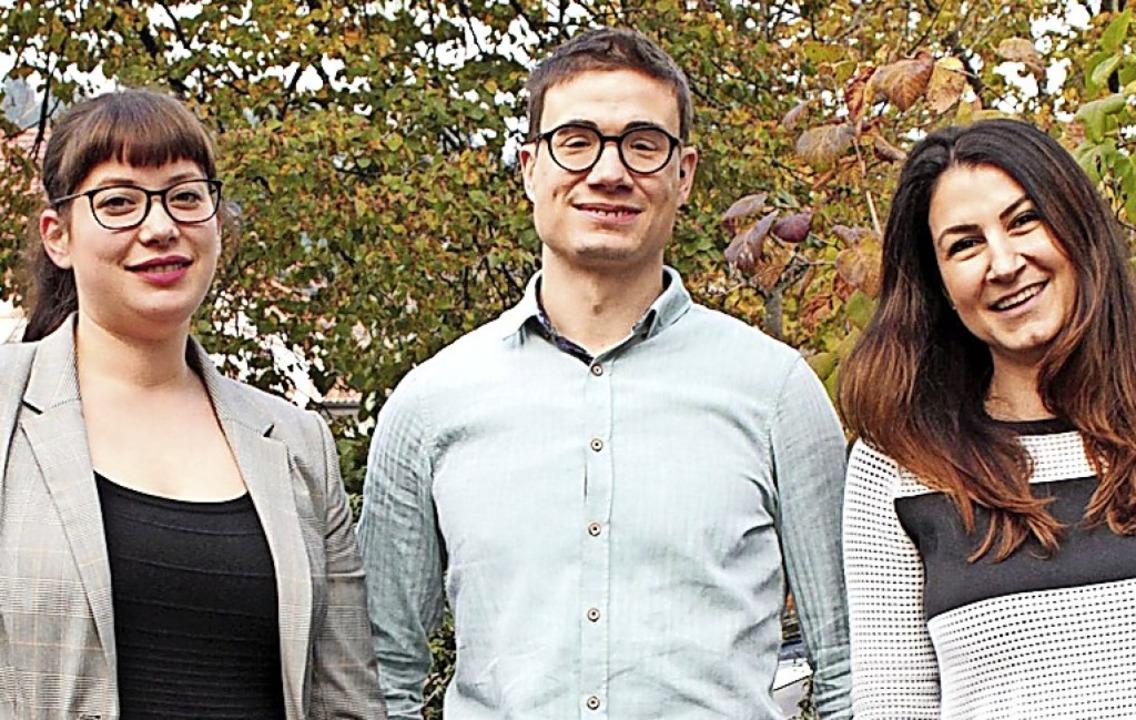 Die drei neuen Junglehrer:  Julia Gred...n Prunu und  Sabine Bayri (von links)     Foto: privat
