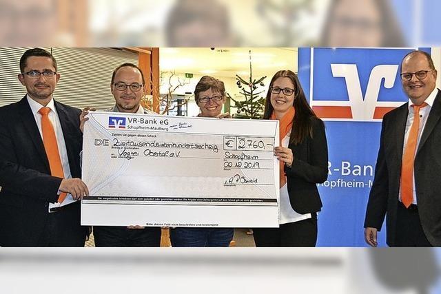 Spenden für Obertal-Schopf