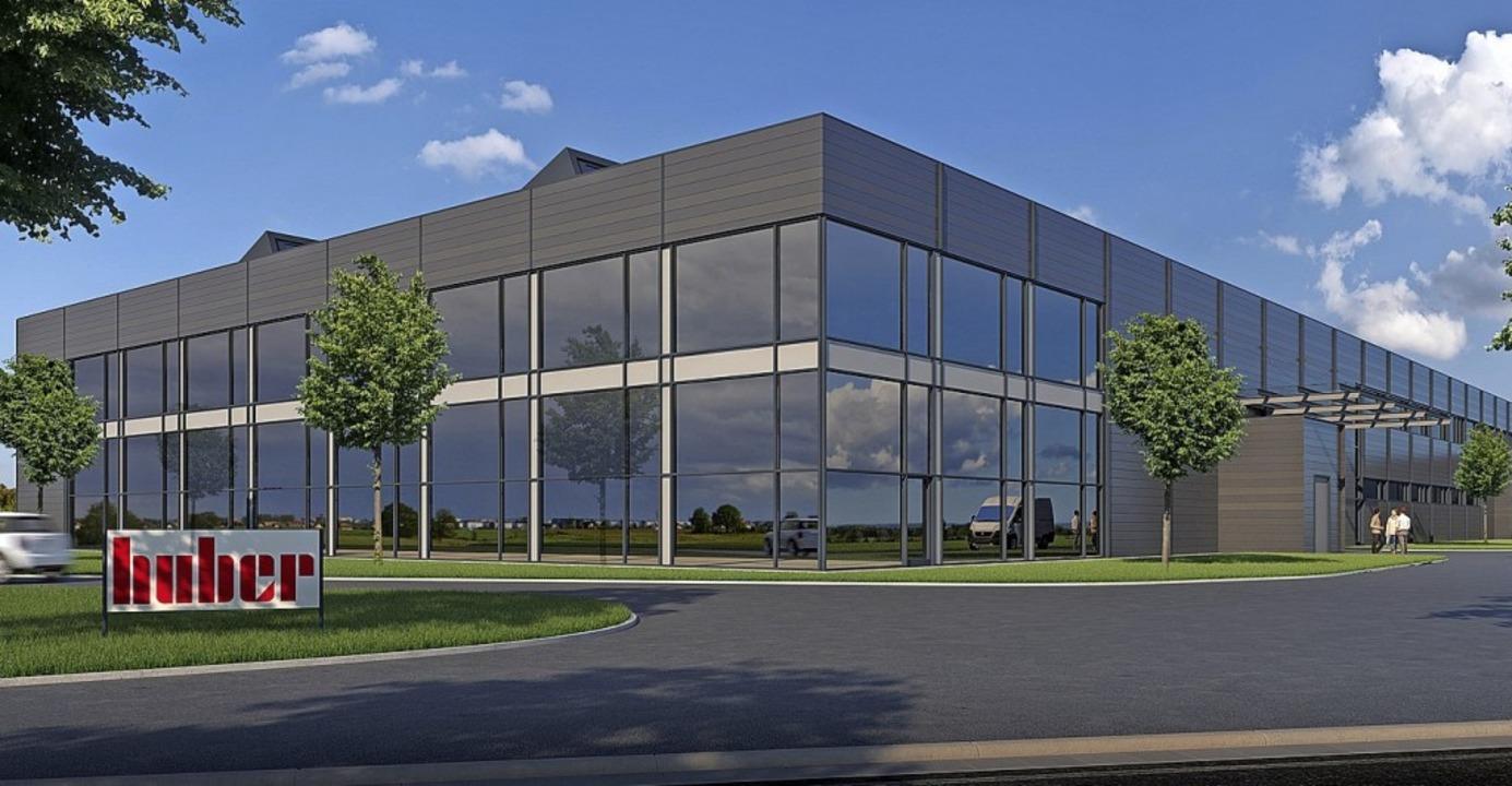 Modern und energieeffizient: So soll die neue Produktionshalle aussehen.  | Foto: Freyler