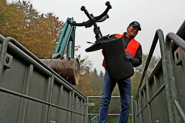 2018 war auf der Deponie Schönberg ein Rekordjahr