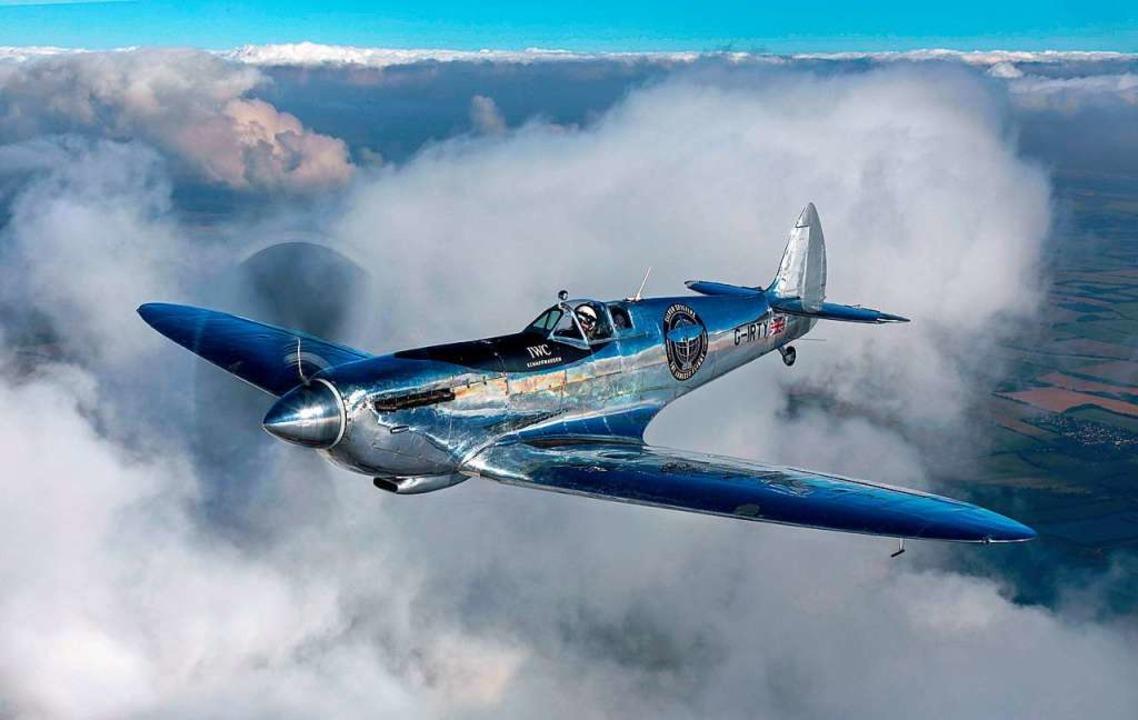 76 Jahre ist die Spitfire alt.  | Foto: BZ