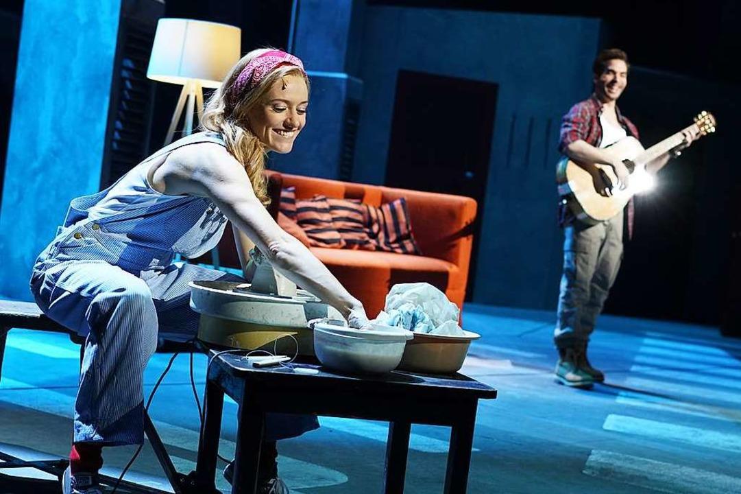 Wahre Liebe: Sam und Molly    Foto: Stage Entertainment