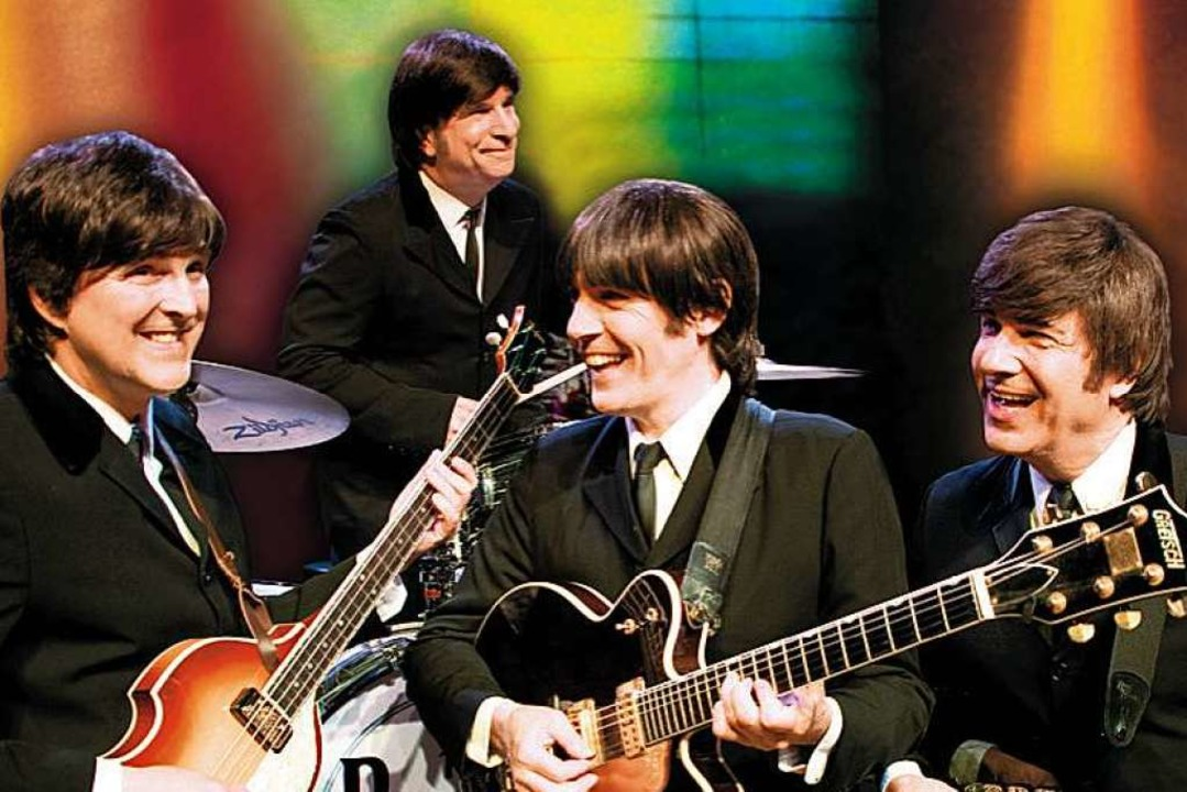 "Perfekte Beatles-Doppelgänger: ""Twist & Shout"" aus Las Vegas  