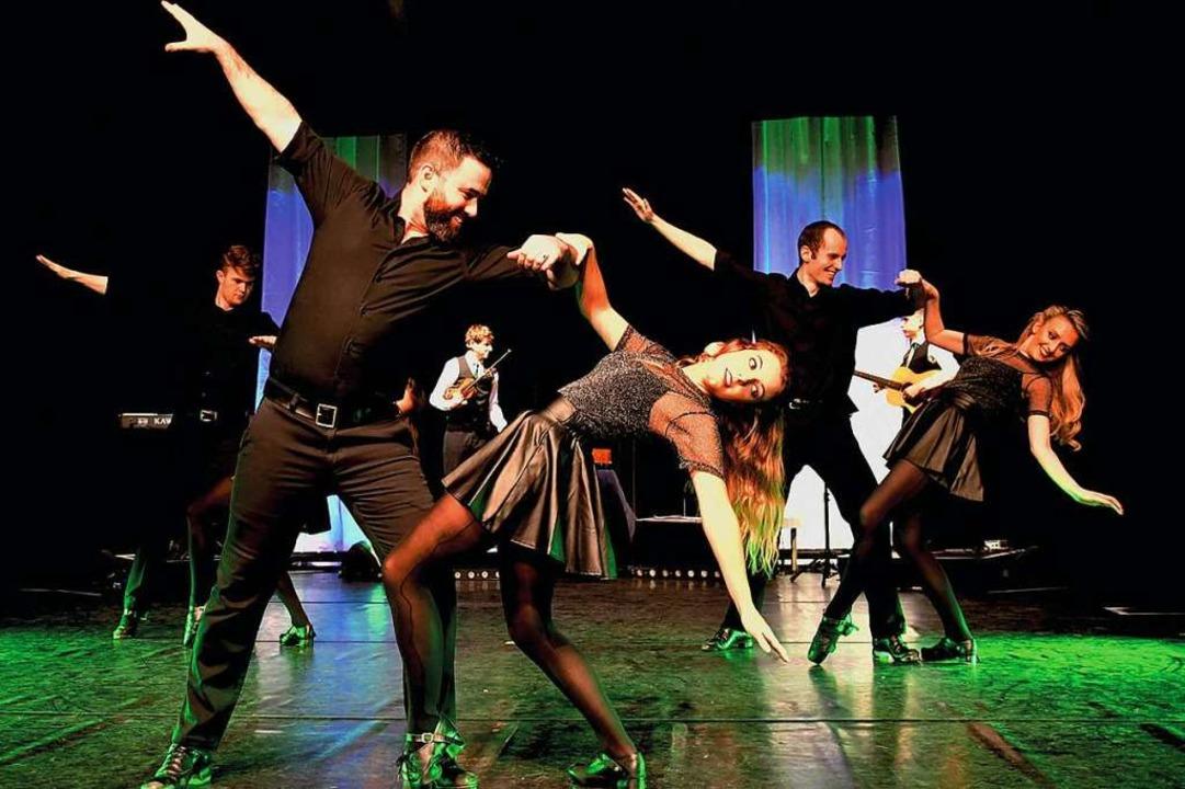 Mitreißende Irish-Dance-Show   | Foto: Wolfgang Bäumler