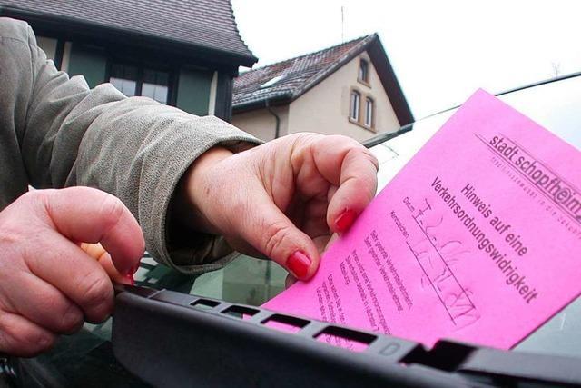 Beim Kalten Mark im Schopfheim wurden weniger Strafzettel verteilt