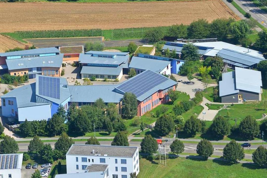 Die Waldorfschule Offenburg an der verlängerten Moltkestraße  | Foto: Manfred Dürbeck