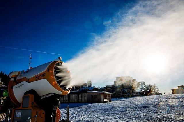 Am Freitag beginnt die Skisaison am Feldberg