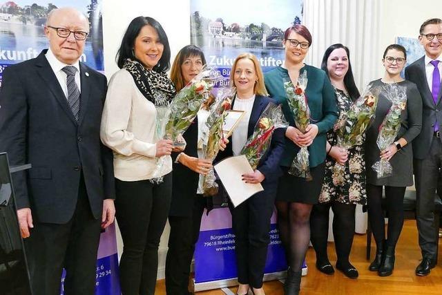 Fotos: Rheinfelder Bürgerpreis geht an den Verein Helfende Hände