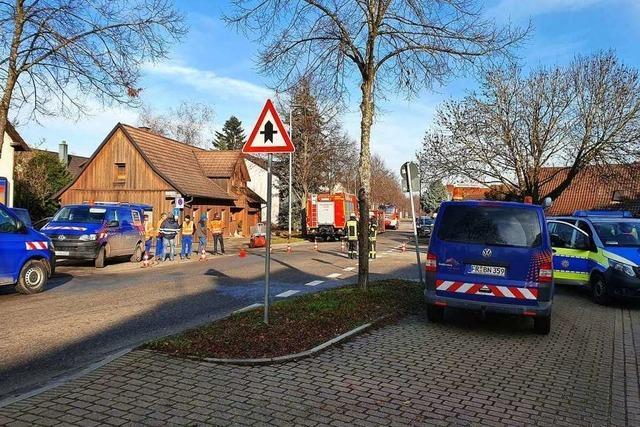 Gasleitung bei Bauarbeiten in Lahr beschädigt – Sperrung der Bundesstraße aufgehoben