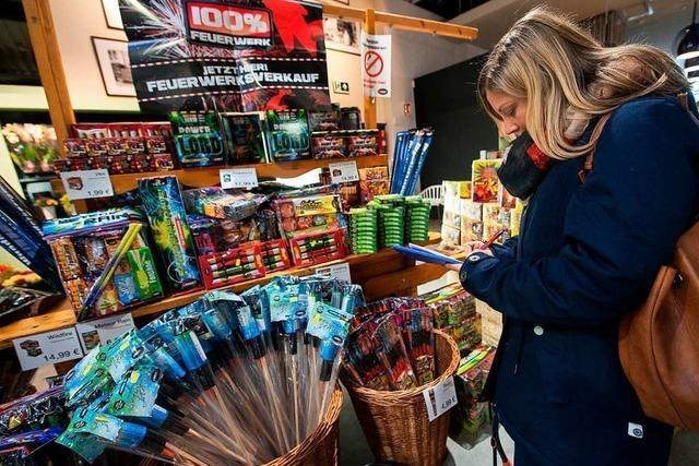 Vor einer Schule am Hochrhein wird an drei Tagen Feuerwerk verkauft