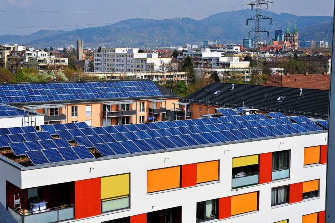 Damit Betreiber von Photovoltaikanlage...Freiburg ein neues Konzept entwickeln.    Foto: Thomas Kunz