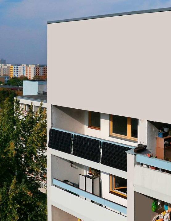 Eine Balkonanlage muss angemeldet werd...braucht die Zustimmung des Vermieters.    Foto: indielux