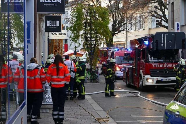 Ein Kellerbrand in Lörrach konnte rasch gelöscht werden