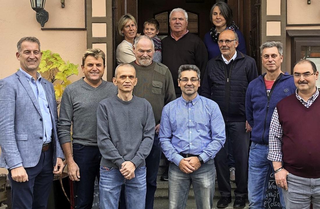 Langjährige Mitarbeiter ehrte die Firma Storz in Kenzingen.     Foto: Firma Storz