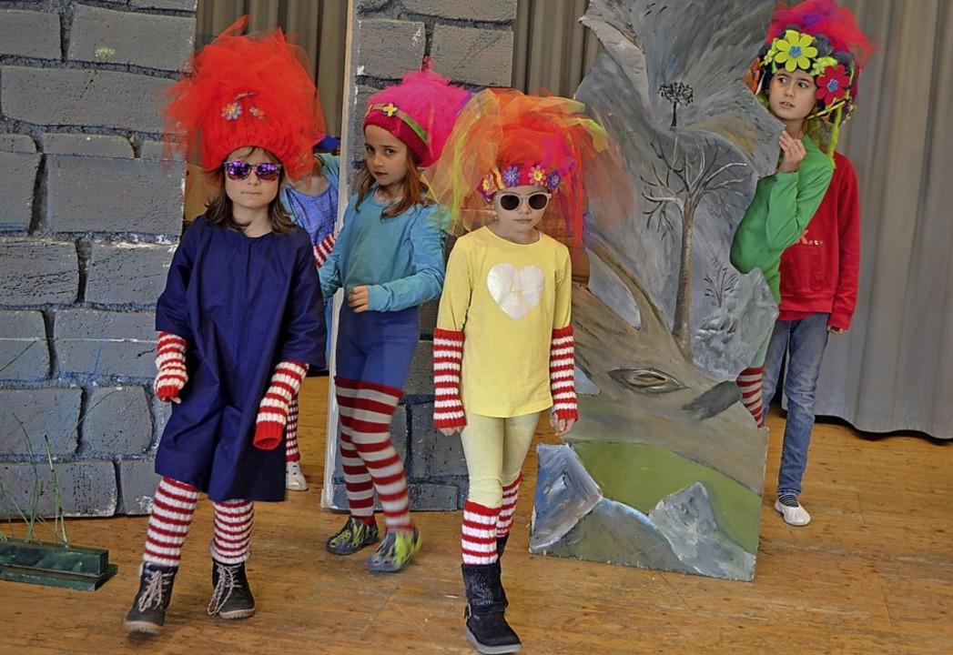 Die Mümmler im Zauberland Oz     Foto: Liane Schilling