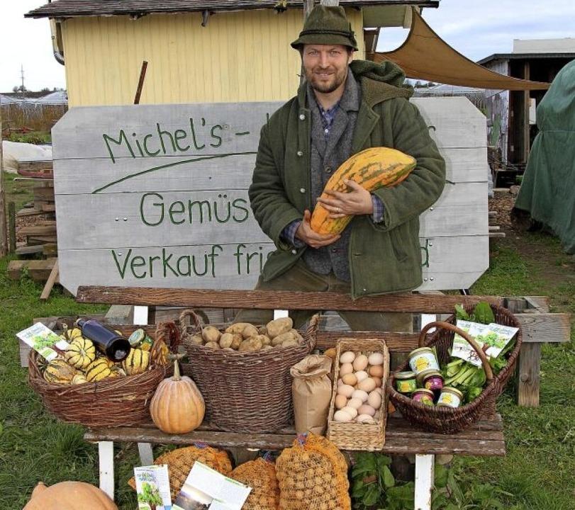 Michael Selinger sucht nach neuen Konzepten für die Landwirtschaft.  | Foto: Christine Speckner