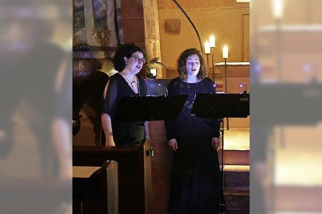 Vox Cordis gibt zweites Adventskonzert in der Kirche St. Peter und Paul in Wittelbach