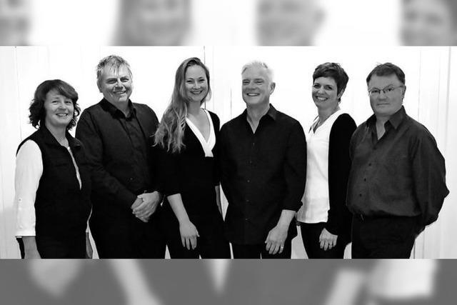 Die Gruppe Illegato singt Weihnachtlieder a cappella