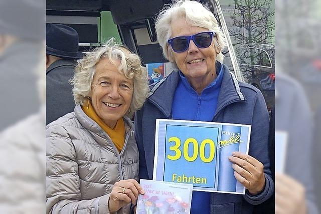 Bürgerbus 300 Mal gesteuert