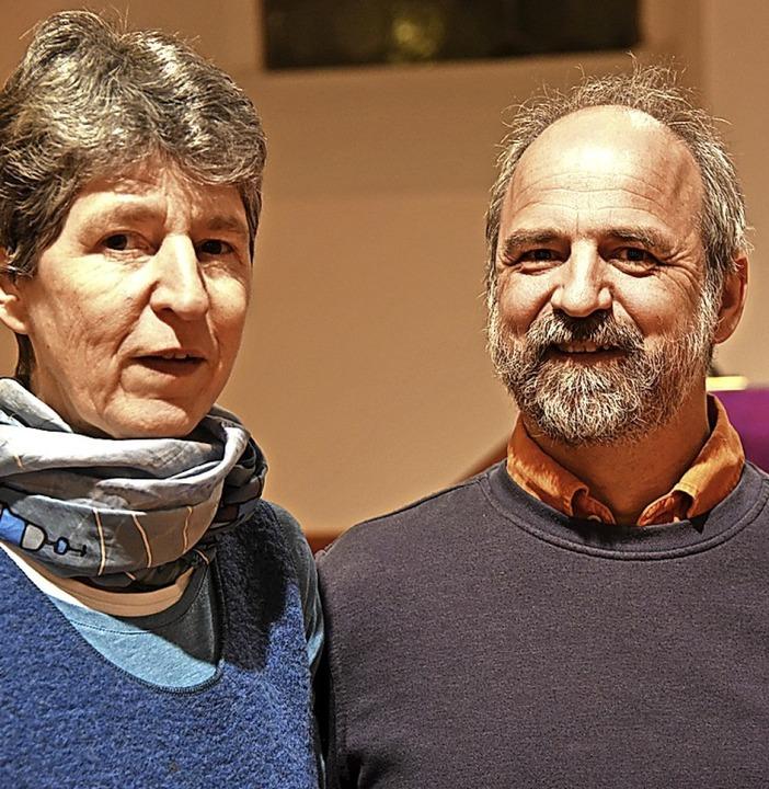 Gemeinsame Arbeit in der Gemeinde: Bär...l Wassmer sind in Maulburg angekommen.    Foto: Robert Bergmann