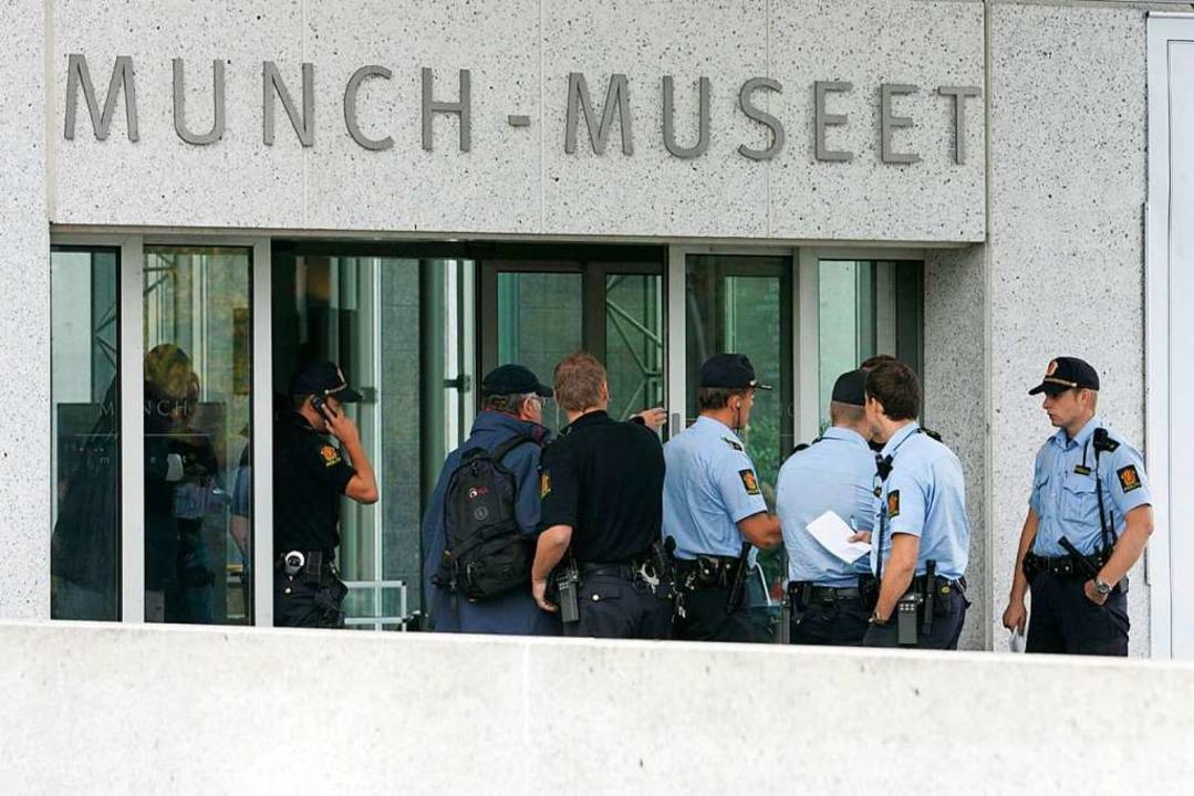Im August 2004 wurden aus dem Munch-Mu...ischen Malers Edvard Munch gestohlen.     Foto: Junge;_Heiko