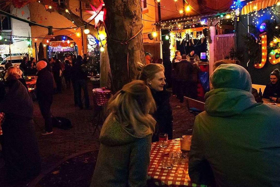 Weihnachts-Wow im Café Pow  | Foto: Juli Richter