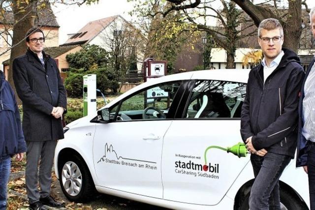 Car-Sharing-Verein nutzt das städtische Elektroauto