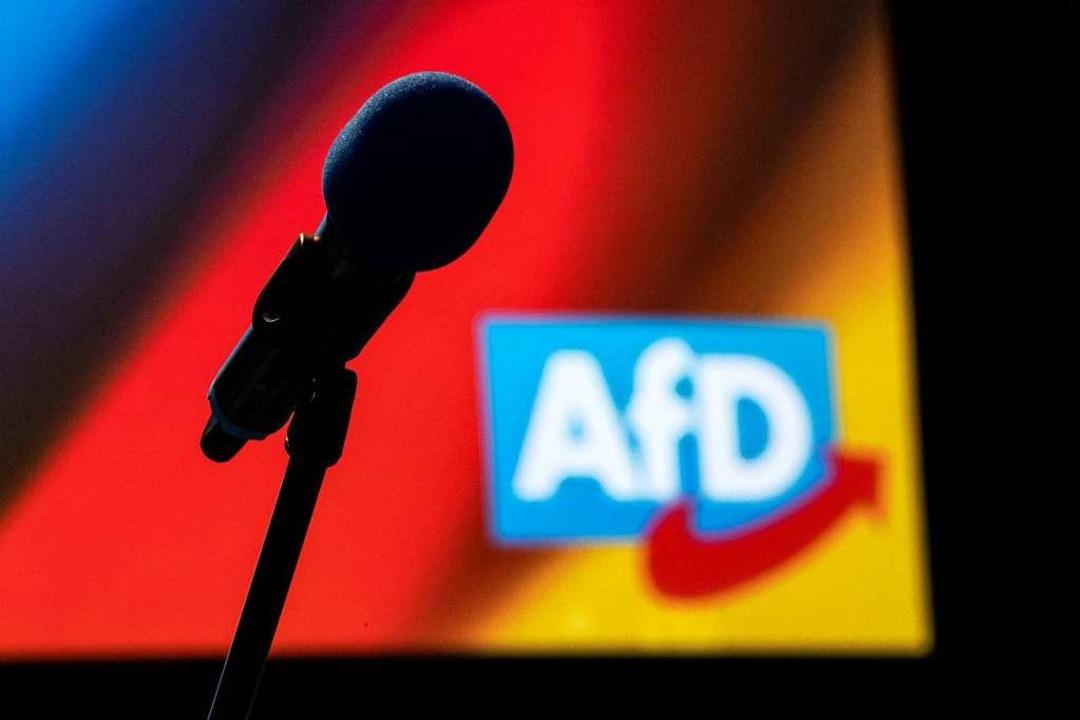 Die AfD Freiburg hat einen neuen Kreisvorsitzenden  | Foto: Sina Schuldt (dpa)