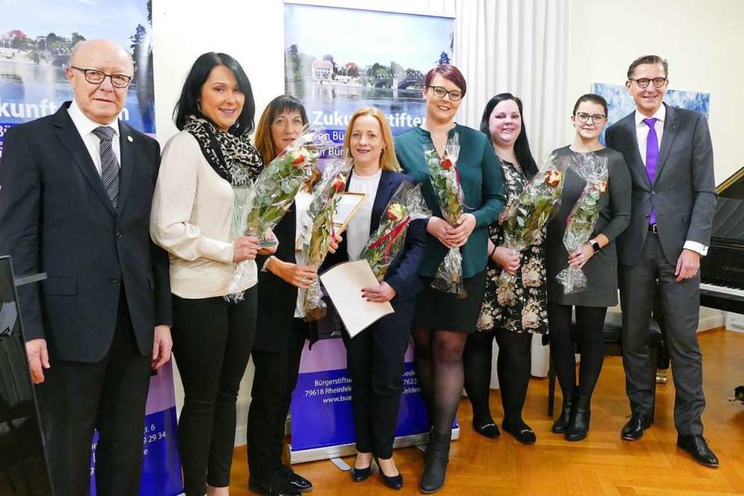 Mit dem 13. Bürgerpreis wurden die &#8... Stiftungsvorsitzender Rainer Liebenow  | Foto: Ingrid Böhm