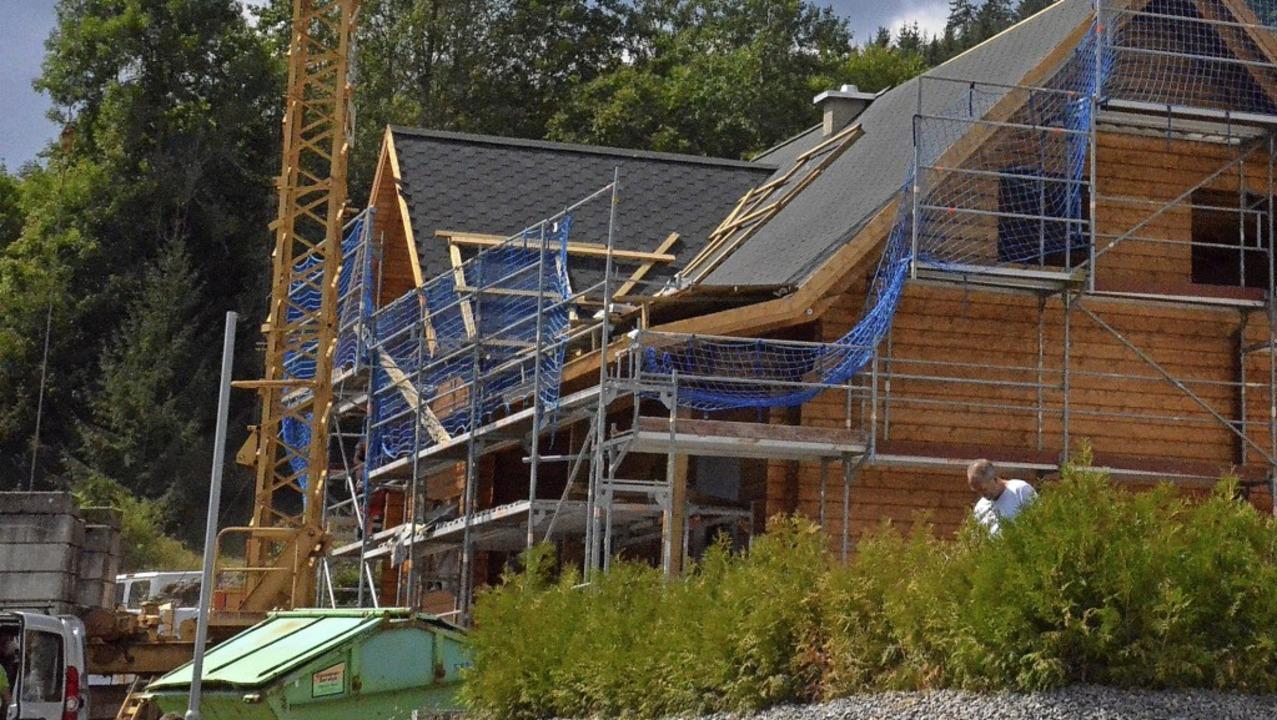 Mehrere Interessenten für einen Baupla...sein, hat der Gemeinderat beschlossen.  | Foto: Sebastian Barthmes