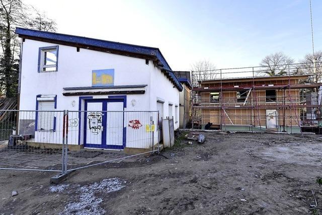 Die Arbeiten an der neuen Staudinger-Schule beginnen