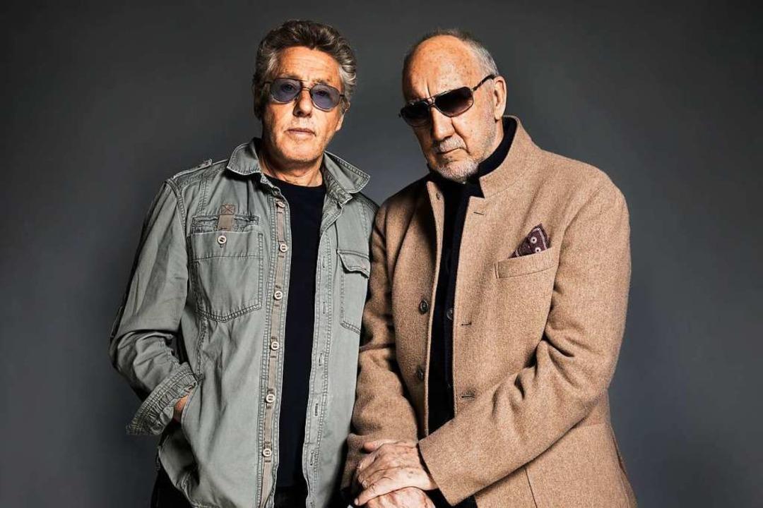 Zwei von vier haben überlebt: The Who-...ger Daltrey (links) und Pete Townshend    Foto: - (dpa)