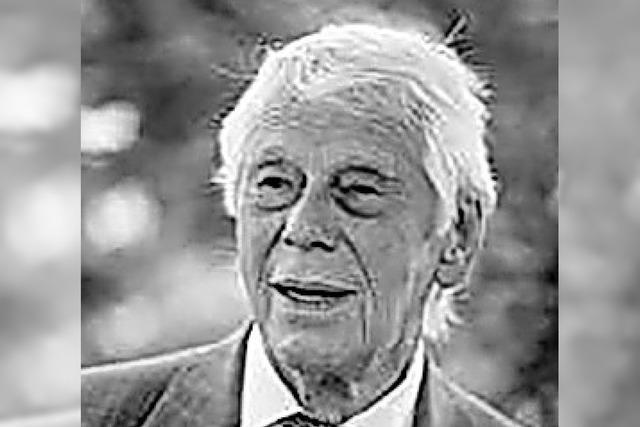 Trauer um den Künstler Wilfried Gründler