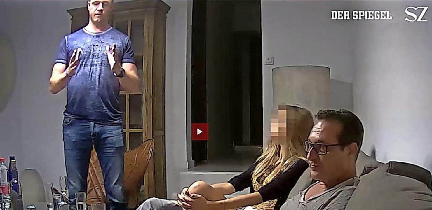 Darum ging's: Veröffentlichung d... auf Ibiza gefilmt wurde, durch die SZ    Foto: Spiegel/Süddeutsche Zeitung/dpa