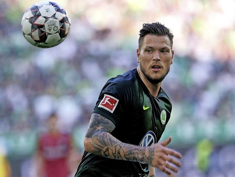 Wieder am Ball: Daniel Ginczek   | Foto: Peter Steffen (dpa)