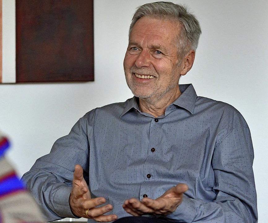 Geht nach 40 Jahren Arbeit mit Straftätern in den Ruhestand: Peter Asprion  | Foto: Michael Bamberger