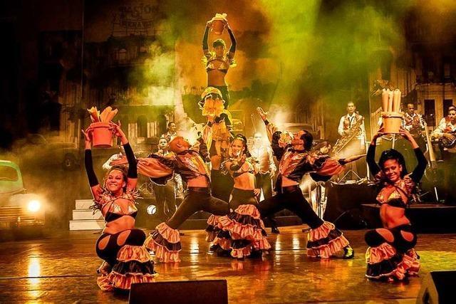 Die kubanische Tanzshow