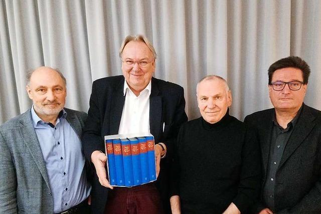 Hebels Werke sind nun in sechs Bänden versammelt