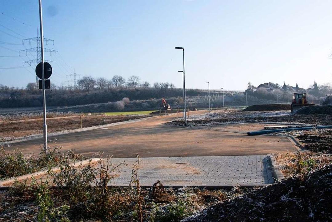 Baugebiet Staaden III: Die Stadt Heite...von geogen belasteten Bodenmaterials.     Foto: Volker Münch
