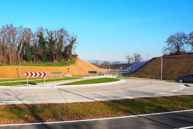 In Haltingen steht ein Jahrhundertbauwerk vor dem Abschluss